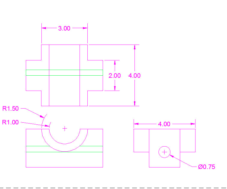 Drawing Lines In Autocad Using Bearings : Autocad sarah beamer